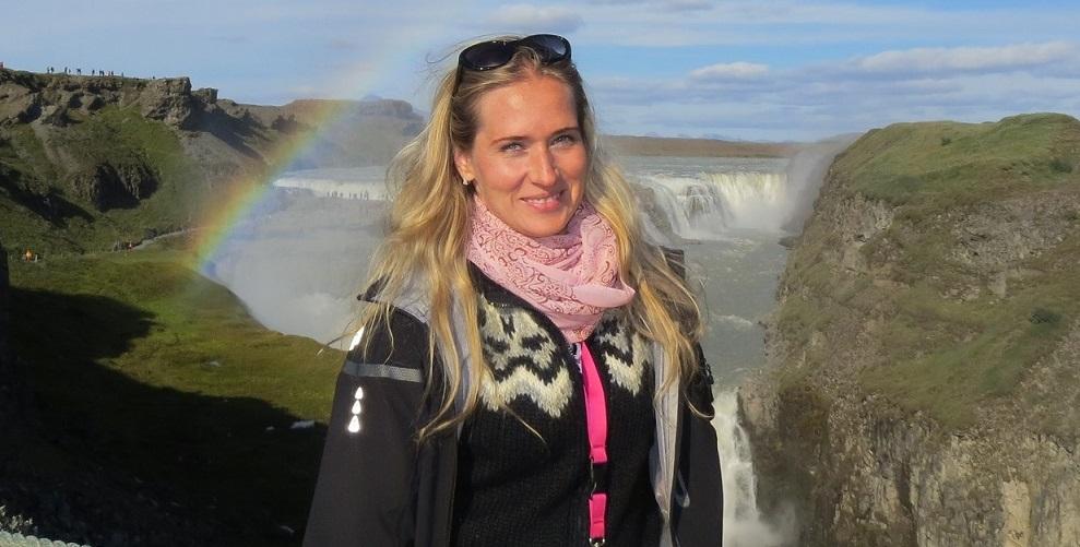 Zuzana, la fundadora y directora general de ISLANDICA s.r.o.